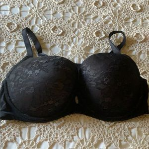 Torrid Black Lace T-shirt Bra